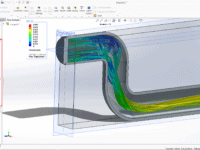 How to run a basic simulation in Simcenter FloEFD
